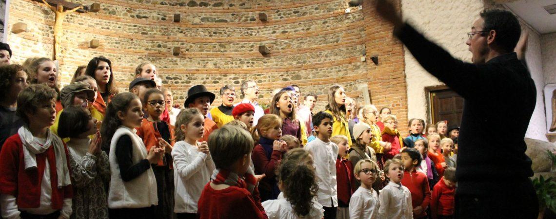 Concert de Noël déc 18 / église de Croix Daurade