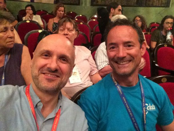 avec Josep Vila i Casanes