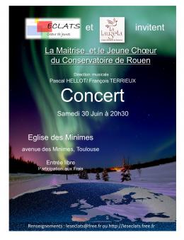 Concert Choeur Rouen 2012