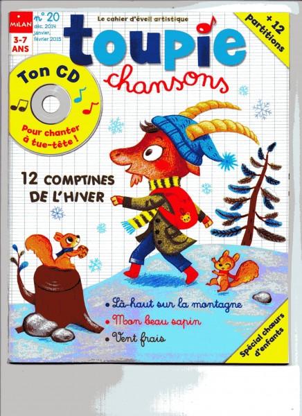CD Toupie Chansons Noel 2014