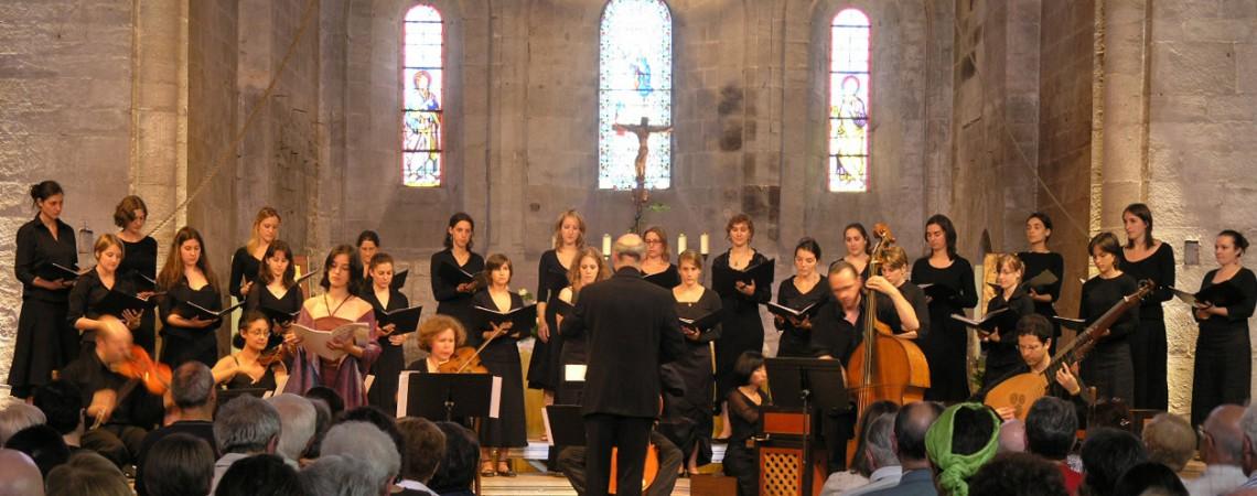 Abbaye de Sylvanes avec Les Passions / Motets de Nicola Porpora