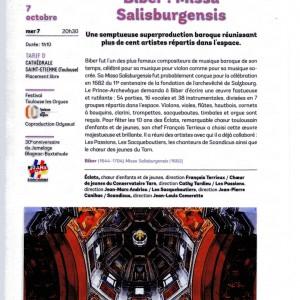 Missa Salisburgensis BIBER