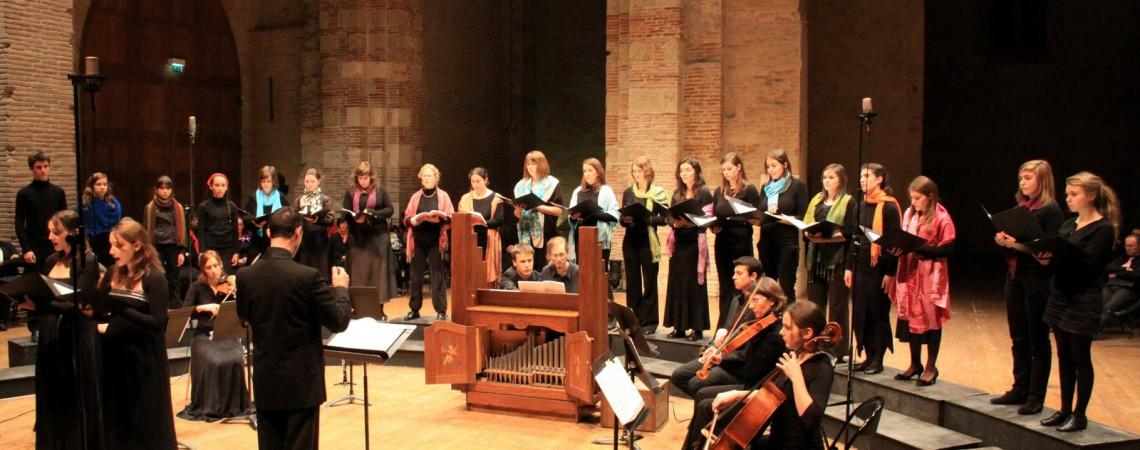 Concert Vivaldi à l'auditorium Saint Pierre des Cuisines