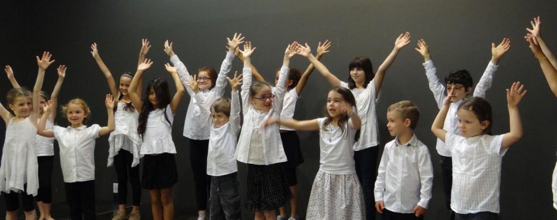 concert des enfants du primaire
