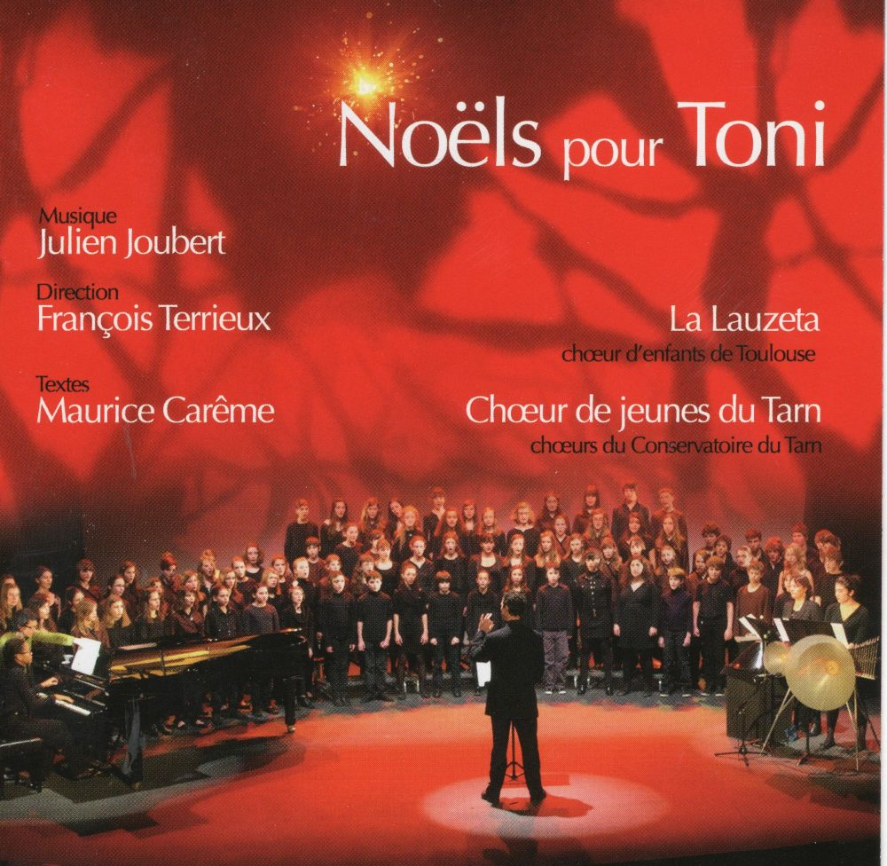 2012 Noëls pour Toni Julien Joubert