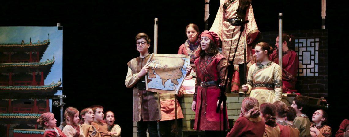 Marco Polo et la princesse de Chine au Théâtre Gallia de Saintes / février 2020